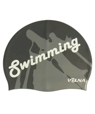 Шапочка для плавания Volna Swim Cap silver