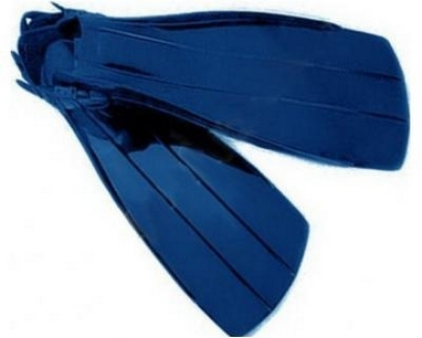 Ласты с открытой пяткой Volna Mitridat Trans.Blue