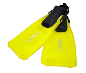 Фото 2 к товару Ласты с открытой пяткой Volna Katran yellow