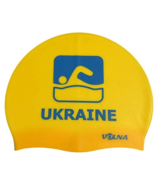Шапочка для плавания Volna Team II Cap yellow