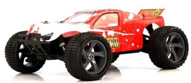 Автомобиль радиоуправляемый Himoto Трагги Centro E18XTr Brushed 1:18 red