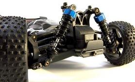 Фото 4 к товару Автомобиль радиоуправляемый Himoto Багги Spino E18XBb Brushed 1:18 black