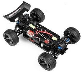 Фото 5 к товару Автомобиль радиоуправляемый Himoto Багги Spino E18XBb Brushed 1:18 black
