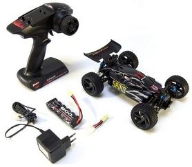 Фото 6 к товару Автомобиль радиоуправляемый Himoto Багги Spino E18XBb Brushed 1:18 black