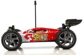 Фото 2 к товару Автомобиль радиоуправляемый Himoto Багги Spino E18XBr Brushed 1:18 red