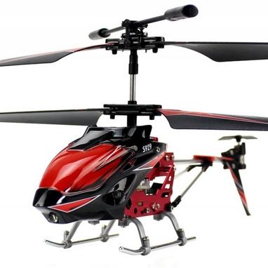 Вертолет на инфракрасном управлении 3-к WL Toys S929 с автопилотом красный