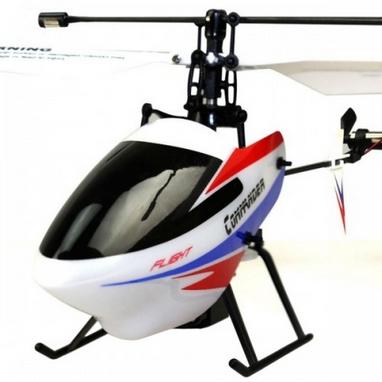 Вертолет радиоуправляемый 4-к WL Toys V911-pro Skywalker