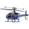 Вертолет радиоуправляемый 4-к WL Toys V915 Lama синий - фото 1