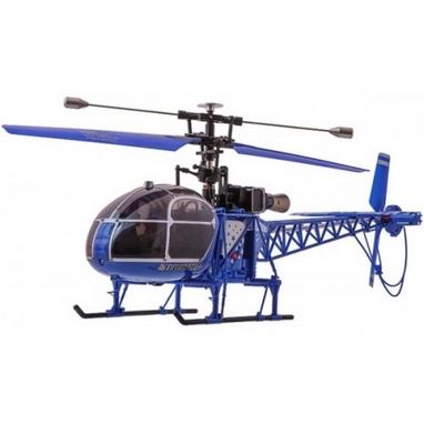 Вертолет радиоуправляемый 4-к WL Toys V915 Lama синий