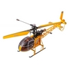 Вертолет радиоуправляемый 4-к WL Toys V915 Lama желтый - фото 1