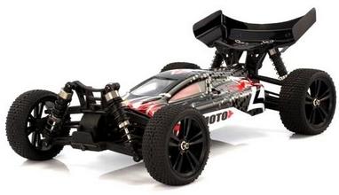 Автомобиль радиоуправляемый Himoto Багги Tanto E10XBb Brushed 1:10 black