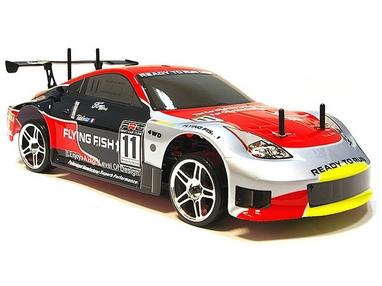Автомобиль радиоуправляемый Himoto Дрифт DRIFT TC HI4123n Brushed 1:10 (Nissan 350z)