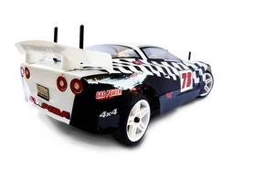 Фото 3 к товару Автомобиль радиоуправляемый Himoto NASCADA HI5101w Brushed 1:10 white