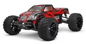 Автомобиль радиоуправляемый Himoto Монстр Bowie E10MTLr Brushless 1:10 red