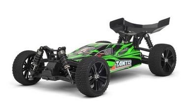 Автомобиль радиоуправляемый Himoto Багги Tanto E10XBLg Brushless 1:10 green