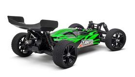 Фото 2 к товару Автомобиль радиоуправляемый Himoto Багги Tanto E10XBLg Brushless 1:10 green