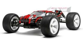 Автомобиль радиоуправляемый Himoto Трагги Ziege MegaE8XTLr Brushless 1:8 red