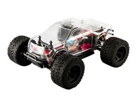 Автомобиль радиоуправляемый LC Racing Монстр MTH 1:14 коллекторный