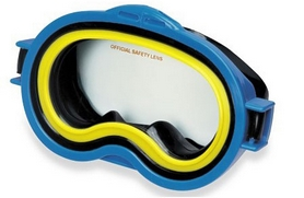 Маска для плавания Intex Sea Scan Swim Mask синяя