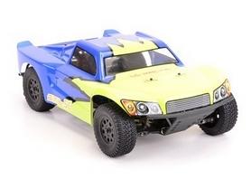 Автомобиль радиоуправляемый LC Racing Шорт SCH 1:14 blue