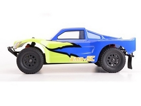 Фото 2 к товару Автомобиль радиоуправляемый LC Racing Шорт SCH 1:14 blue