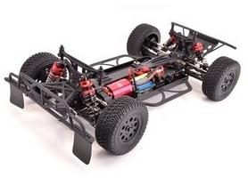 Фото 3 к товару Автомобиль радиоуправляемый LC Racing Шорт SCH 1:14 blue