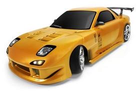 Автомобиль радиоуправляемый Team Magic Дрифт E4D Mazda RX-7 1:10 gold