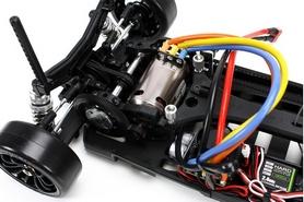 Фото 6 к товару Автомобиль радиоуправляемый Team Magic Дрифт E4D Mazda RX-7 1:10 gold