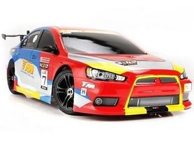 Автомобиль радиоуправляемый Team Magic E4JR II Mitsubishi Evolution X 1:10 red