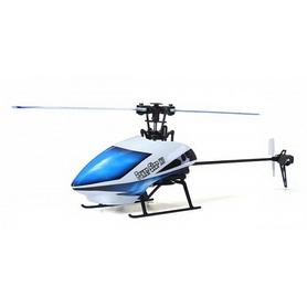 Вертолет радиоуправляемый 3D WL Toys V977 FBL бесколлекторный белый