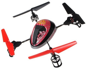 Квадрокоптер WL Toys V949 UFO Force фиолетовый