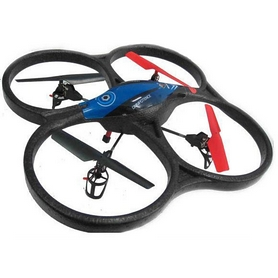 Фото 1 к товару Квадрокоптер WL Toys V606 Cyclone Mini синий