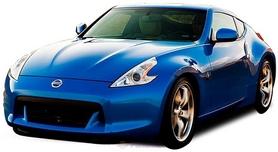 Автомобиль радиоуправляемый Nissan 370Z 1:43 микро синий