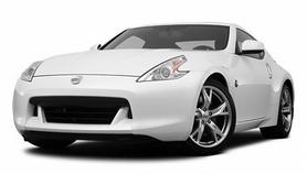 Автомобиль радиоуправляемый Nissan 370Z 1:43 микро белая