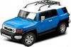 Автомобиль радиоуправляемый Toyota FJ 1:43 микро синий - фото 1