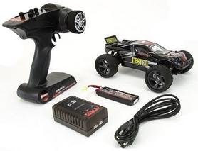 Фото 8 к товару Автомобиль радиоуправляемый Himoto Трагги Centro E18XTb Brushed 1:18 black