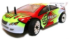 Автомобиль радиоуправляемый Himoto EXO-16 HI4182g Brushed 1:16 green