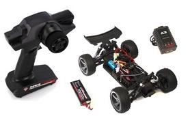 Фото 7 к товару Автомобиль радиоуправляемый Himoto Багги Spino E18XBLb Brushless 1:18 black