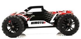 Фото 3 к товару Автомобиль радиоуправляемый Himoto Монстр Bowie E10MTb Brushed 1:10 black