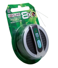 Фото 1 к товару Шнур Nomura Sensum 8X Braid 150 м 0.24 мм 23 кг зеленый