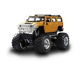 Автомобиль радиоуправляемый Hummer 1:43 микро желтый