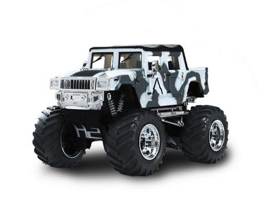 Автомобиль радиоуправляемый Hummer 1:43 микро хаки