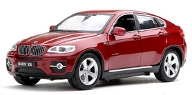 Автомобиль радиоуправляемый Meizhi BMW X6 1:24 красный
