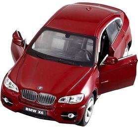 Фото 2 к товару Автомобиль радиоуправляемый Meizhi BMW X6 1:24 красный