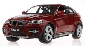 Фото 4 к товару Автомобиль радиоуправляемый Meizhi BMW X6 1:24 красный