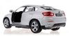 Автомобиль радиоуправляемый Meizhi BMW X6 1:24 белый - фото 3