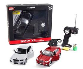 Фото 4 к товару Автомобиль радиоуправляемый Meizhi BMW X6 1:24 белый