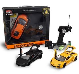 Автомобиль радиоуправляемый Meizhi Lamborghini LP700 1:24 желтый - Фото №5