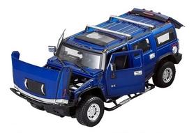 Фото 2 к товару Автомобиль радиоуправляемый Meizhi Hummer H2 1:24 синий