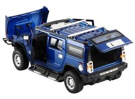 Фото 3 к товару Автомобиль радиоуправляемый Meizhi Hummer H2 1:24 синий
